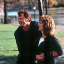 Aidan Quinn and Meryl Streep in Music Of The Heart - 10/99