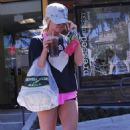 Ashley Tisdale: Outside Fresh Corn Grill