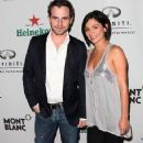 Alexandra Barreto and Rider Strong