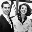Bradford Dillman With Wife Suzy Parker - 399 x 500