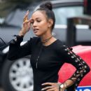 Karrueche Tran – Promotes her new TV show 'Claws' in Brooklyn