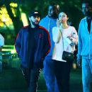 Selena Gomez and The Weeknd at Disneyland in Anaheim