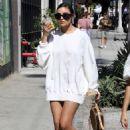 Olivia Culpo – Shopping at Bottega Veneta in West Hollywood