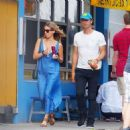 Annabelle Wallis and Chris Martin