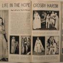 Bing Crosby - Stardom Magazine Pictorial [United States] (July 1942) - 454 x 310