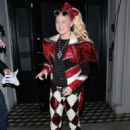 Jojo Siwa in extravagant outfit to dinner at Craigs in West Hollywood