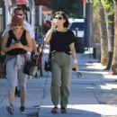 Lucy Hale – Out and about with a friend in LA