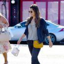 Jessica Biel – Leaving the Museum of Ice Cream in LA