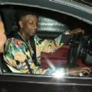 Amber Rose and 21 Savage Leaving the Peppermint Club in West Hollywood, California - July 8, 2017