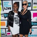 Amber Rose on Watch What Happens: Live in New York City - October 25, 2015