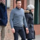 Ryan Seacrest steps out in New York City, New York on December 30, 2014