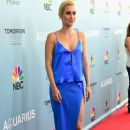 Actress Claire Holt arrives at the Premiere of NBC's
