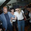 Amber Heard – Arriving at Nice Airport