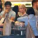 Dianna Agron: pick up some BBQ items in Los Angeles