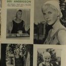 Bibi Andersson - Film Magazine Pictorial [Poland] (11 July 1965)
