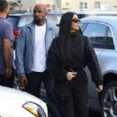 Kim Kardashian and Kanye West – Out in Los Angeles