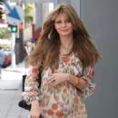 Mischa Barton - Shopping In Beverly Hills, 2008-04-08