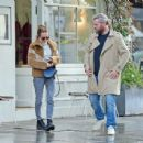 Kara Tointon with husband out in Notting Hill - 454 x 437
