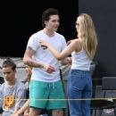 Nicola Peltz and Brooklyn Beckham – Out in Fort Lauderdale - 454 x 677