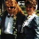 Dave Mustaine and his sister Michelle