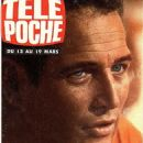 Paul Newman - Télé Poche Magazine Cover [France] (10 March 1976)