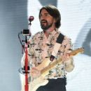 Singer/songwriter Juanes performs during a stop of his Loco De Amor Tour at The Joint inside the Hard Rock Hotel & Casino on July 30, 2015 in Las Vegas, Nevada - 450 x 600