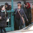 Scarlett Johansson – Filming new film in NY - 454 x 338