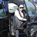 Demi Lovato arriving - a clinic in Beverly Hills - Feb 3 2011