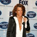 Joe Perry poses in the press room during the American Idol Season 6 Finale held at the Kodak Theatre on May 23, 2007 in Hollywood, California - 389 x 594