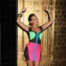 Adrienne Bailon hosts The Evening at Vanity Nightclub Nov. 11, 2011 in Las Vegas