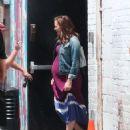 """Jennifer Garner on the set of """"Imagine"""" in NYC (July 29)"""