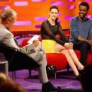 Kristen Stewart Goes Sheer to Talk SWATH on Graham Norton