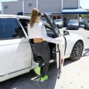 Jennifer Lopez seen leaving a gym after working out in Miami, Florida on March 16, 2017