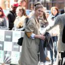 Clemence Poesy – Leaves AOL Build Series in New York City
