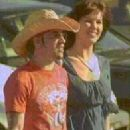 A.J. McLean and Sarah Martin