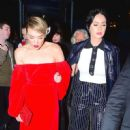 Katy Perry Deboarding Karl Lagerfeld Cruise In Ny