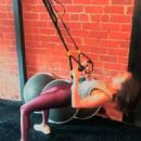 Nina Dobrev Exercising – Instagram