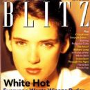 Winona Ryder - BLITZ Magazine Cover [United Kingdom] (June 1991)