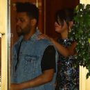 Selena Gomez and The Weeknd Leaving the Sunset Tower hotel in LA - 454 x 557