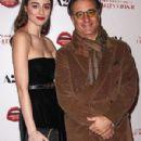 Dominik García-Lorido with father