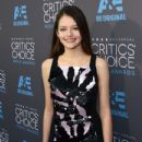 Actress Mackenzie Foy attends the 20th annual Critics' Choice Movie Awards at the Hollywood Palladium on January 15, 2015 in Los Angeles, California - 433 x 600