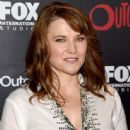 "Actress Lucy Lawless attends FOX International Studios' Comic-Con Party Celebrating Robert Kirkman's New Drama ""Outcast"" during Comic-Con International 2015 at Andaz Hotel on July 9, 2015 in San Diego, California"
