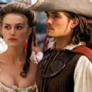 Keira Knightley and Orlando Bloom