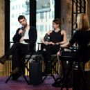 Shailene Woodley and Theo James Visit AOL Build