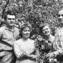 Sergei Bondarchuk and Irina Skobtseva, Nikolai Rybnikov and Alla Larionova - 454 x 288