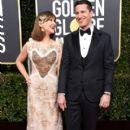 Andy Samberg and Joanna Newsom : 76th Annual Golden Globe Awards - 400 x 600