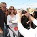 Rick Springfield meets with fans during the Rick Springfield Rocks The Boat For