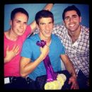 Michael Phelps Parties With Gold Medals & Alleged Girlfriend Megan Rosse