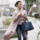 Eva Longoria Heading To Ken Paves Salon In Beverly Hills, February 24 2010 - 454 x 665