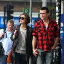 Keira Knightley & Rupert Friend Strolling Hand In Hand In East London - October 3, 2010 - 454 x 477